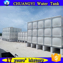 200m3,500m3 Square SMC/ GRP Sectional Water Storage Tank