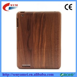 Hot Selling Natural Bamboo Wood Case For Apple iPad 2 3 4 5 Mini Back Covers