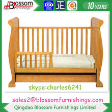 Solid Wooden Baby Cot in NZ Pine