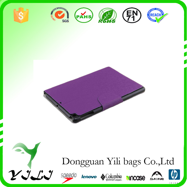 Elegant purple T007 waterproof tablet case
