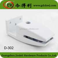 Hardware furniture glass holder clip / Office glass panel holding clips support