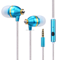 In Ear Headphones Earphones Wired Earbuds 3.5mm Bass Stereo Headsets with Microphone & Remote Control Earpieces mobile phone