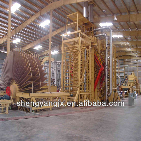 wood floor making machine machinery/woodworking machine/particleboard making machine
