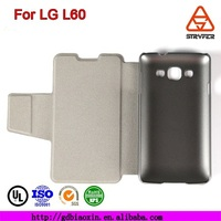 Leather case for LG L60 case cover ,Mobile phone case for LG,flip leather with stand function phone case for LG
