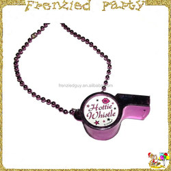 pbachelorette party hottie plastic whistle FGMG-0100