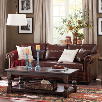 F40547A-1 Latest home sofa set stanley leather sofa india with top quality