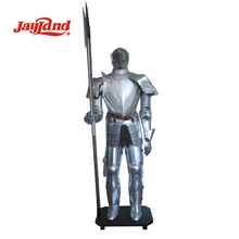 Antique silver Medieval Metal Armor, full body armor suit, knight armor