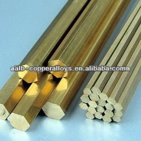 CuNi2CrSi Hexagon Bar Chromium Zirconium Copper Alloy