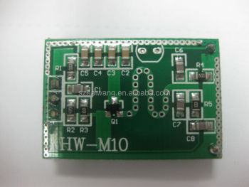 Hot selling HW-M10 microwave motion sensor module