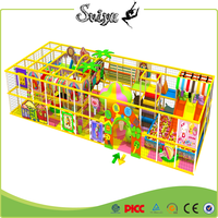Xiaofeixia 2016 Safety Children Indoor Playground With Ball Pit For Indoor Playground Equipment