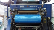 PA/PE blue film roll for vacuum pouches