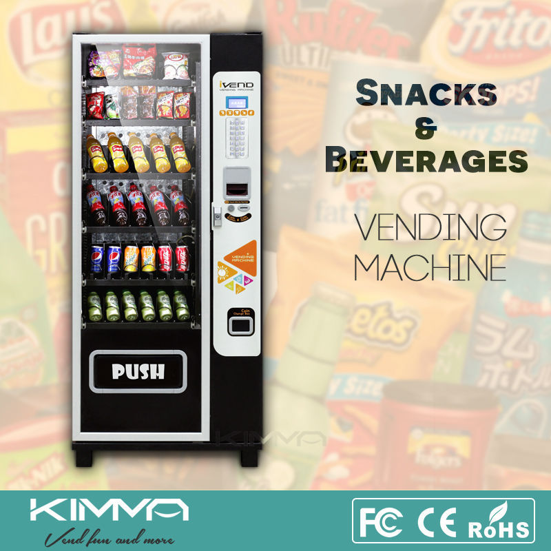 Snapple Vending machine with Refrigerator, KVM-G636