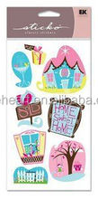 Hot Sale Coustom New Home - First Home Sticko Stickers sticker printing