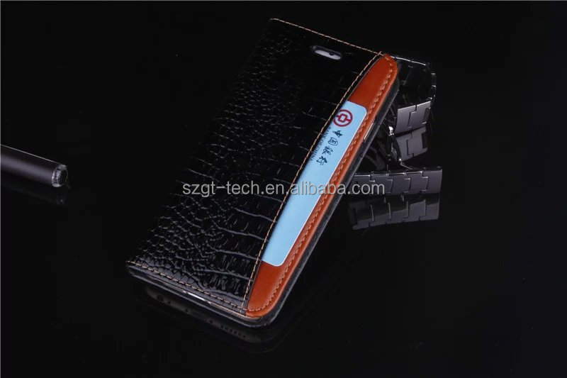 High quality colorful genuine leather crocodile back cover case for iphone 6 6s 4.7 fast delivery