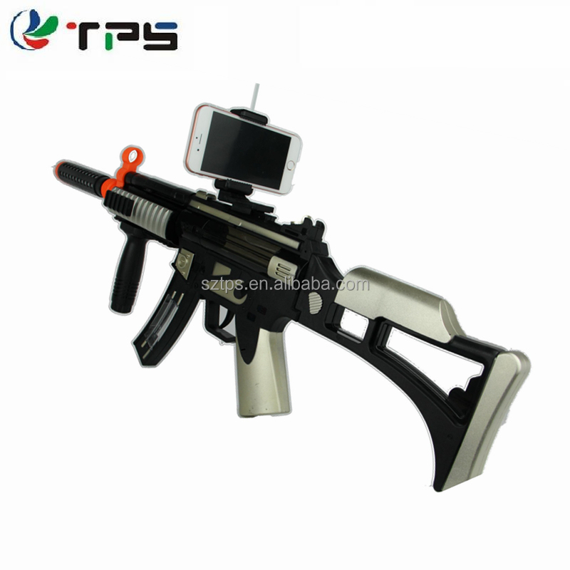 2017 fashion battery operated electric plastic safe toy gun with infrared