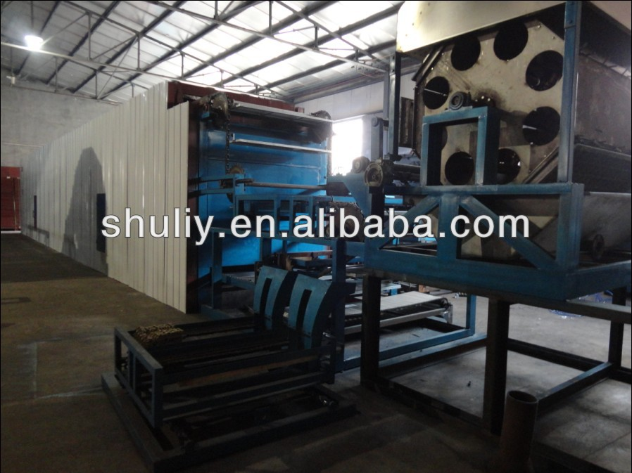 6layers drying line with machine