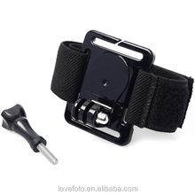Pro Gopro Adapter Mount Band Wrist Mount +Screw For Gopro 3+3/2/1