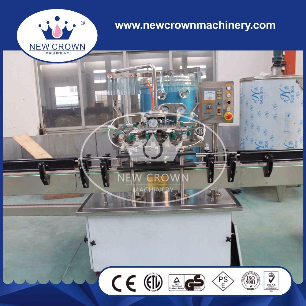 China high quality Automatic carbonated soft drink filling machine