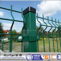 alibaba china 3d curved fence panels garden
