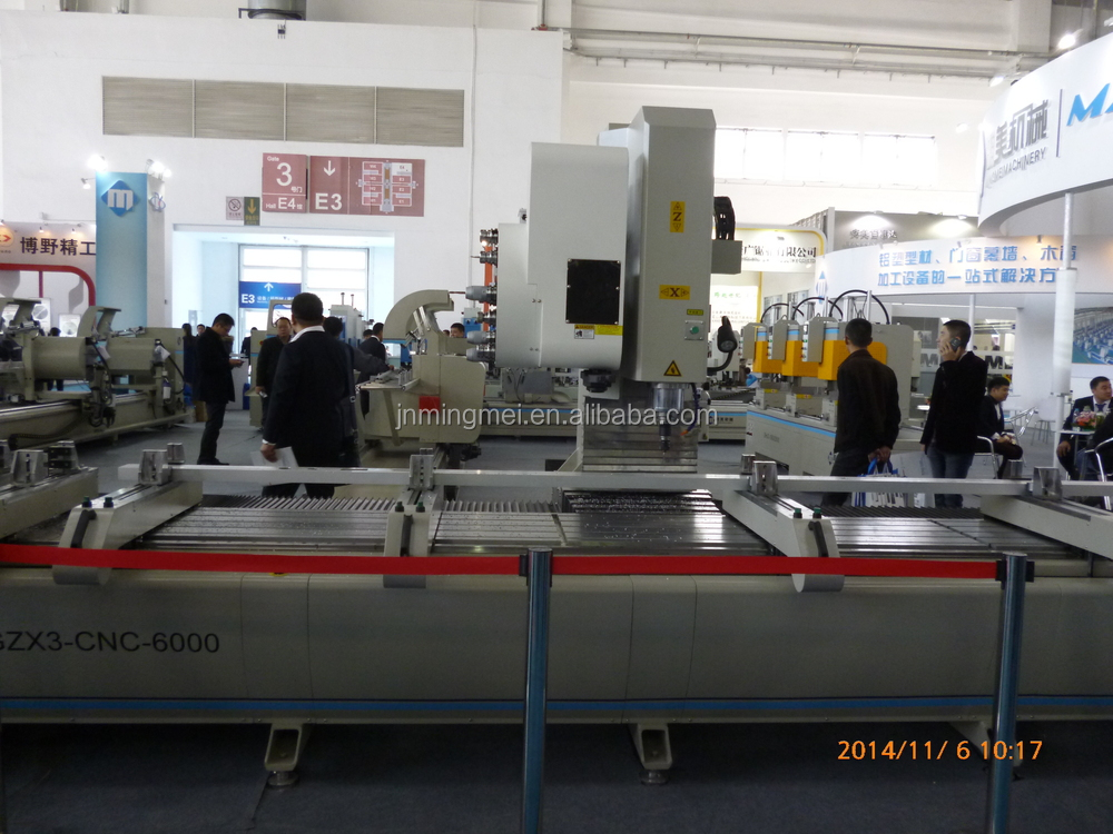Aluminum window door and Curtain walls processing machine/ 4 axis CNC Processing Center