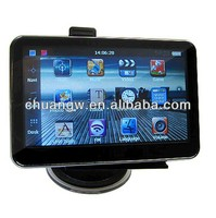 "hot sale gps mediatek mt3351 4.3"" CAR Navigator without bluetooth built-in 4GB with free map"