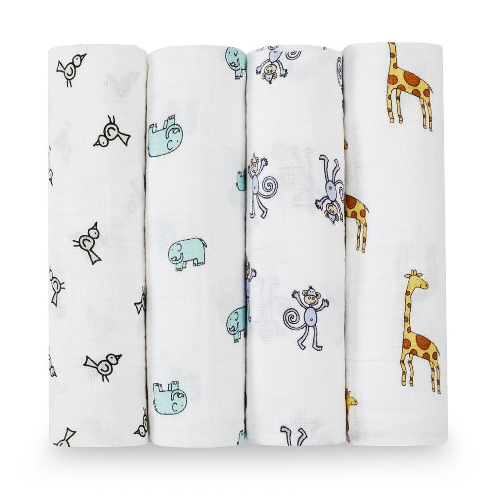 Beroyal China Supplier 100% Muslin Cotton Muslin Swaddle Inflant Blanket For <strong>Baby</strong>