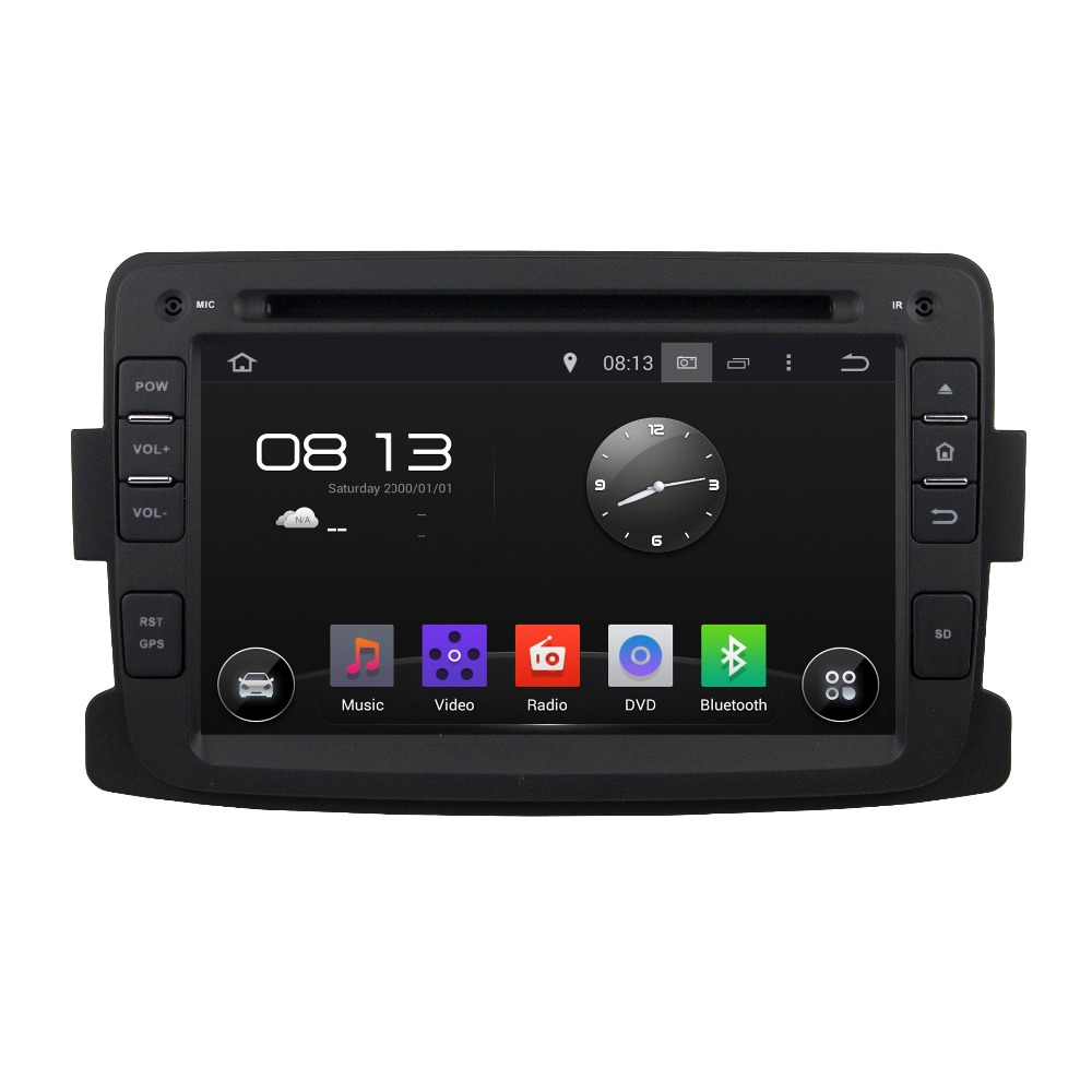 2016 car gps for Renault Duster 2014-2016/Logan/Sandero navigation multimedia dvd player Android 5.1 system