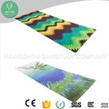 Hot Sale washable fadeless custom round eco black rubber yoga mat manufacturer for yoga