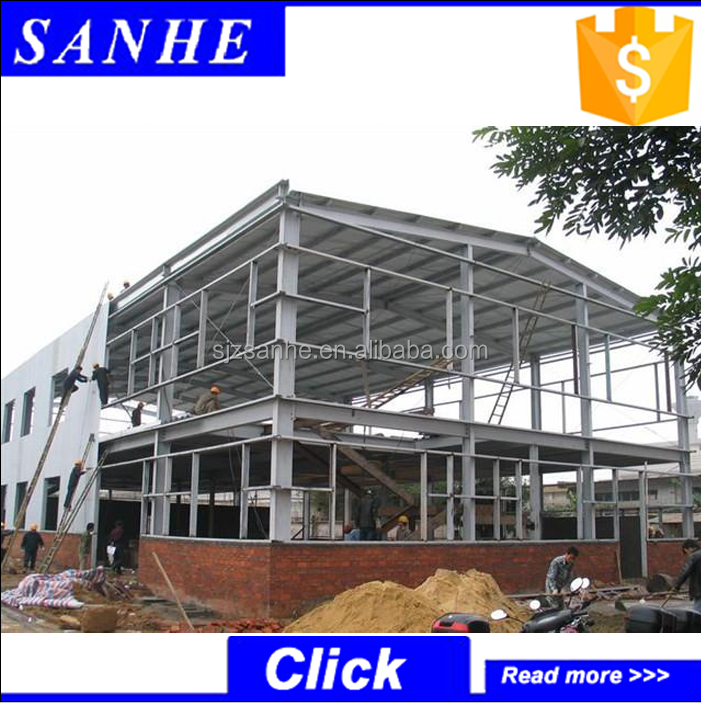 Sanhe Prefabricated high rise long-span steel structure workshop building