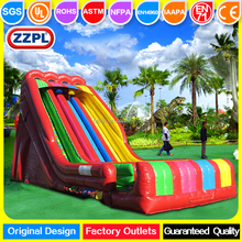 ZZPL Largest inflatable water slide / professional inflatable slip n slide for adult