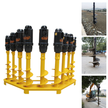 Professional earth auger for drilling machine