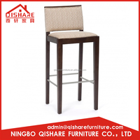 Bar Stool wooden barstool woven dining chair
