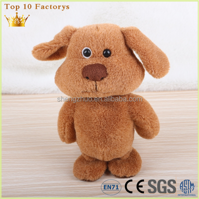 European standard Interactive puppy soft toy With Sound Effects