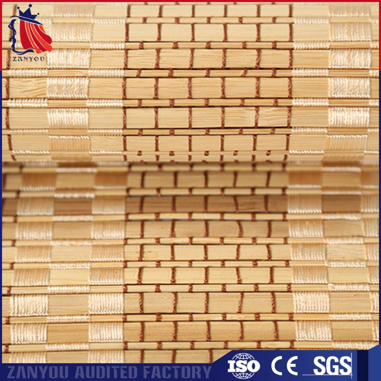 Natural Real Bamboo Roll Up Blind