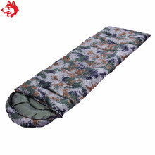 Popular Cheap wholesale digital camo mummy Sleeping Bag warm keep sleeping pocket