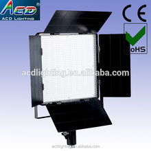 New design work on battery power and dmx 512 bi-color ww+cw led studio light panel