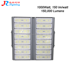 Wholesale Price 6000k 150000lm High Lumen Output 1000W LED Flood Lights Sports Stadium Lamps, the world's brightest floodlight