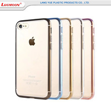 For iPhone 7 7 Plus Acrylic Hard PC Cell Phone Cases, Ultra-thin Crystal Transparent Acrylic Anti-Shock Mobile Phone Cases
