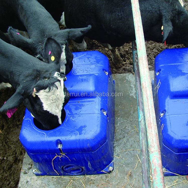 Automatic waterer bowl trough drinking equipment for cattle cows alive
