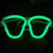 children funny glasses halloween skull shape glasses glow in the dark