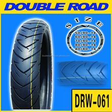 High Quality Motorcycle Tyre 80/90-14 for Philippines Market