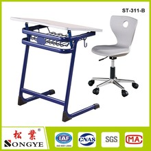 adjustable high school furniture classroom chairs
