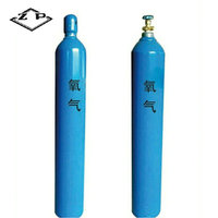 TPED & ISO9809-1 & GB5099 oxygen 50l cylinder