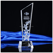 New design blank awards plaque crystal trophy awards
