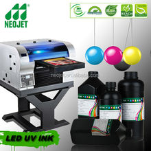 curable uv ink for uv printer konica minolta indoor outdoor advertising on metal pvc glass home decoration digital