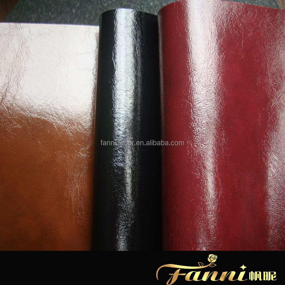 embossed leather/rexine material/quilted leather fabric