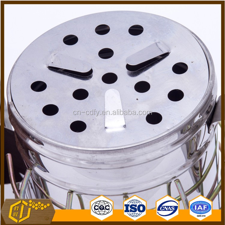 stainless steel bee smoker for beekeeping