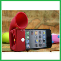 No power needed phone silicone portable mini speaker
