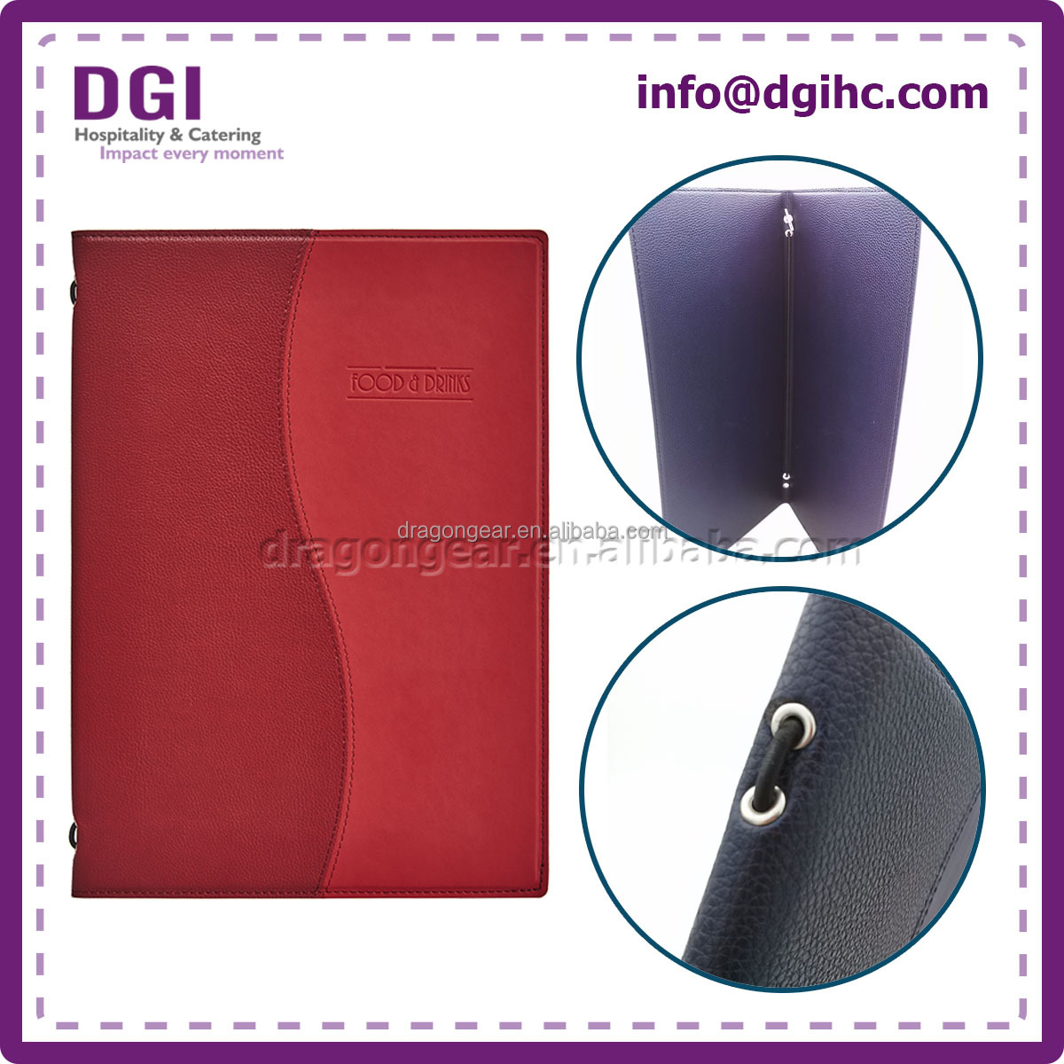 Manufacturer Supplier portfolio leather case wholesale price with customize logo