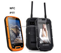 china wholesale 3g smart IP68 rugged Waterproof cell phone with GPS/WIFI/PTT
